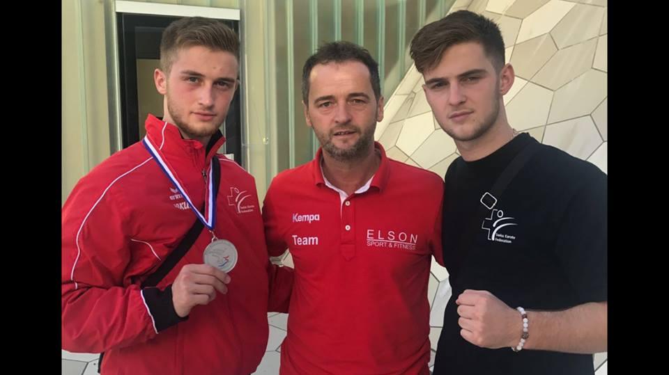 Medaillenerfolge in Rijeka und Pilsen