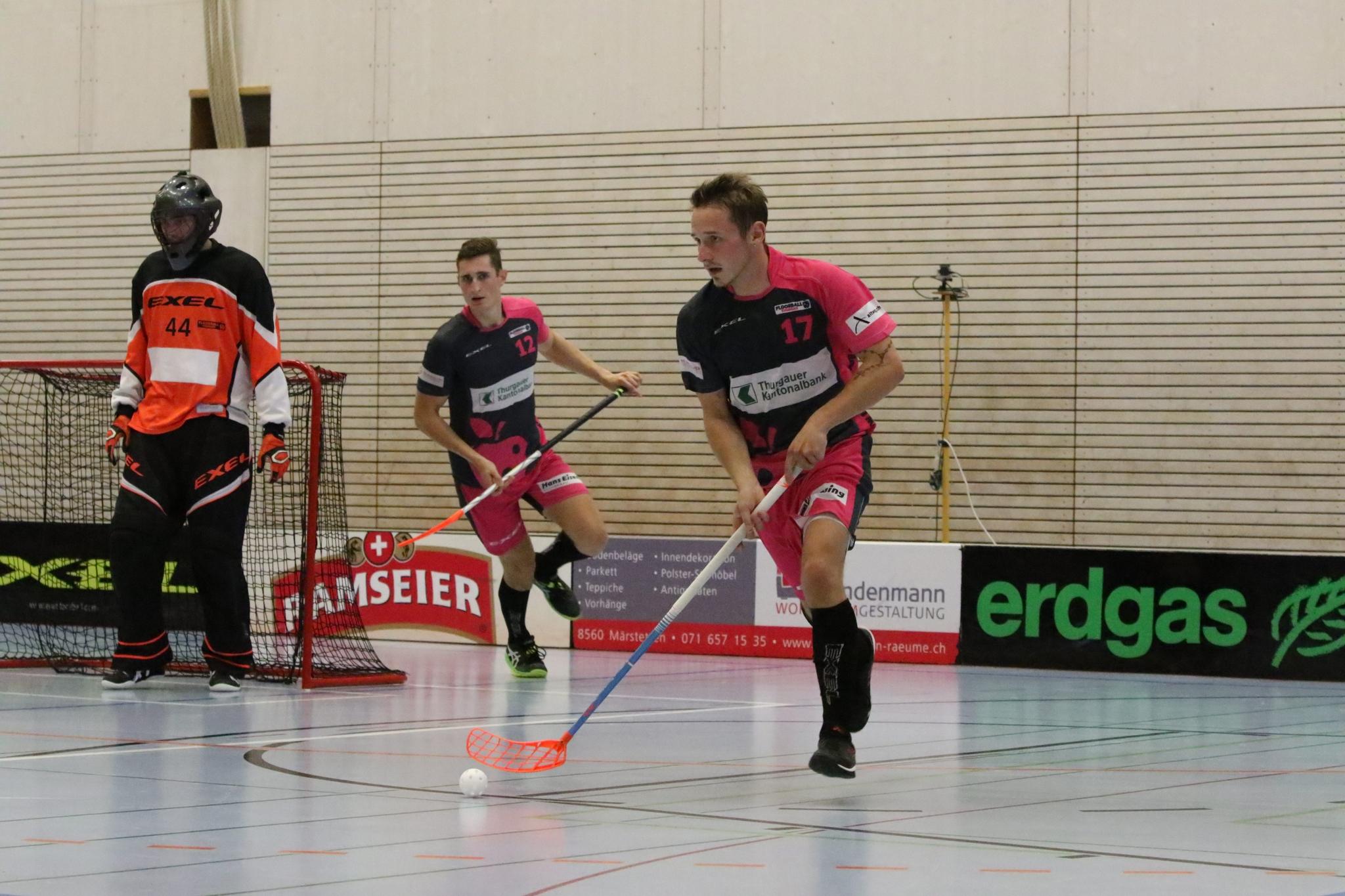 Aufsteiger Floorball Fribourg zu Gast in der Paul-Reinhart-Halle