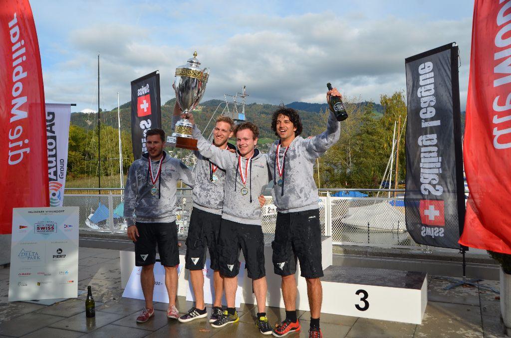 Der Regattaclub Bodensee gewinnt den Swiss Sailing League Cup