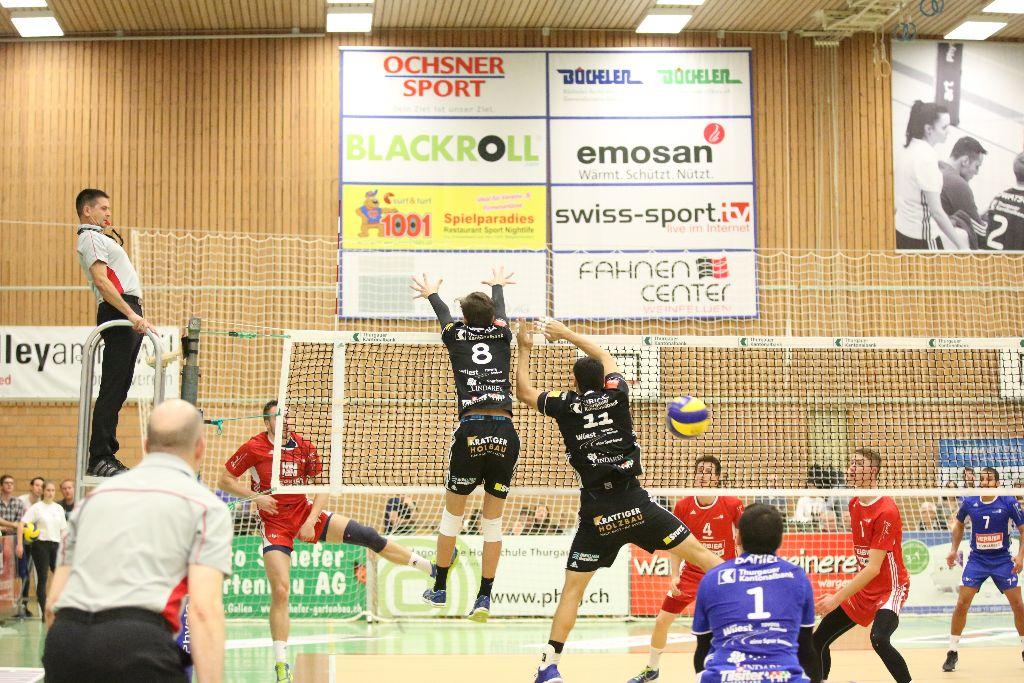 Sieg und Niederlage für Volley Amriswil