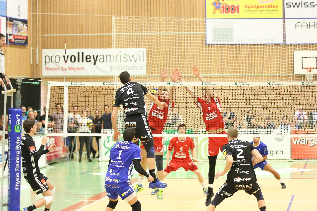 Volley Amriswil – Chênois Genève Volleyball