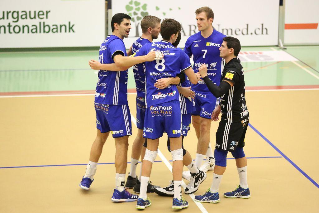 Volley Amriswil gewinnt in Einsiedeln mit Mühe