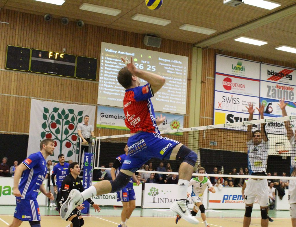 Volley Amriswil holt das Punktemaximum