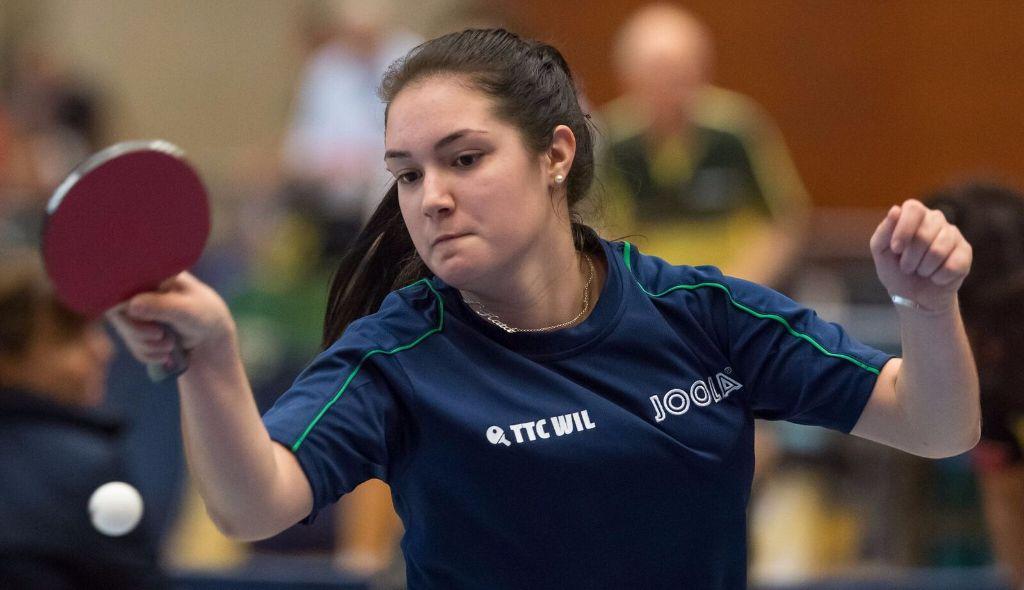 Tischtennis: Kata Csikos ist U18-Ostschweizermeisterin