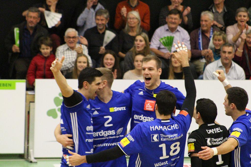 Volley Amriswil überzeugt gegen Schönenwerd