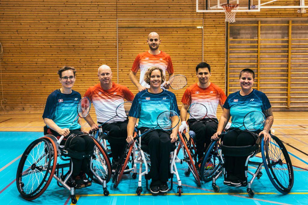 Para-Badminton erstmals auf grosser Bühne