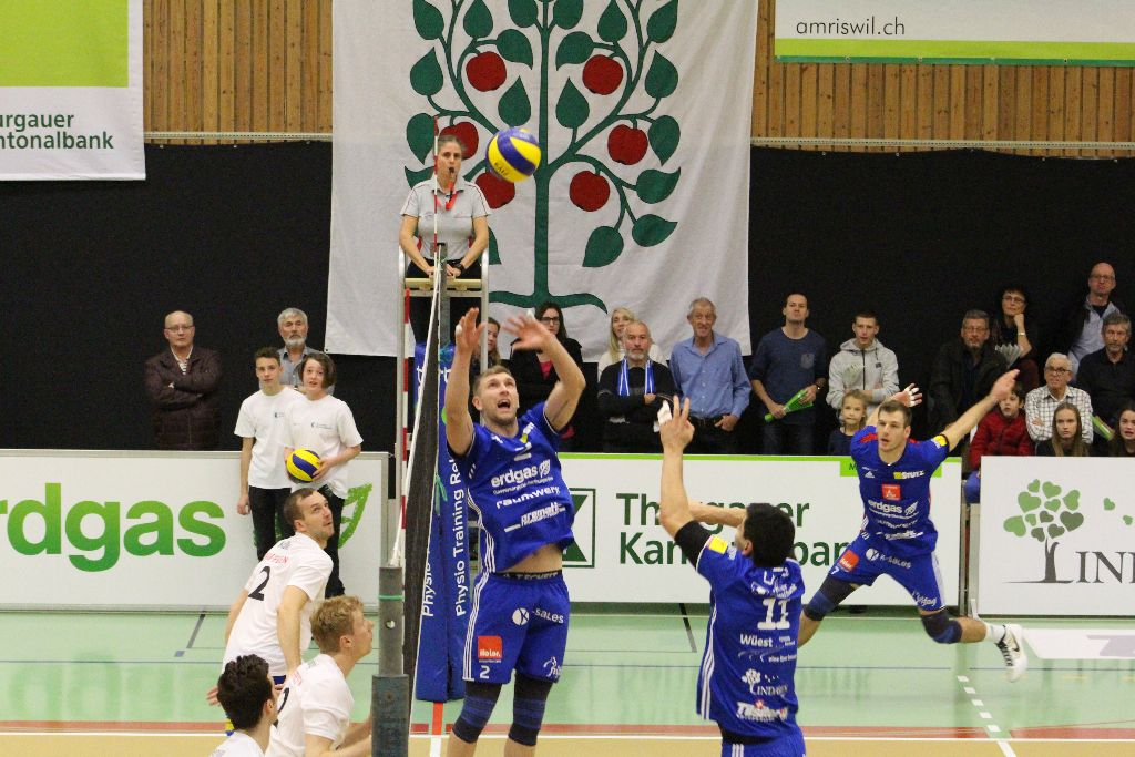 Volley Amriswil – Volley Top Luzern