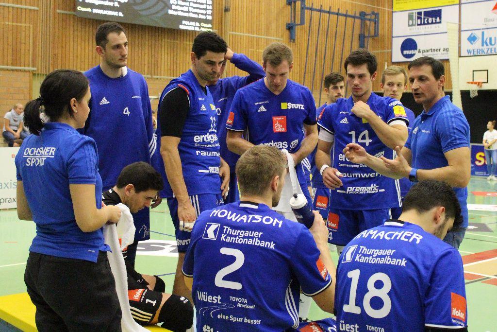 Volley Amriswil spielt in Einsiedeln