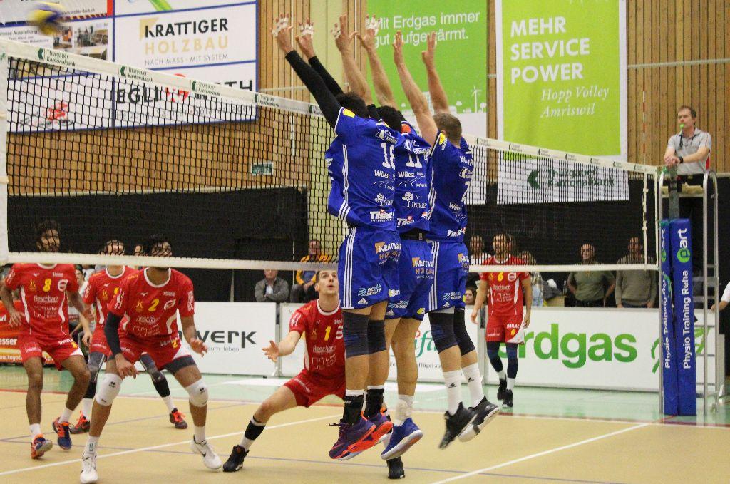 Volley Amriswil hat einen Lauf