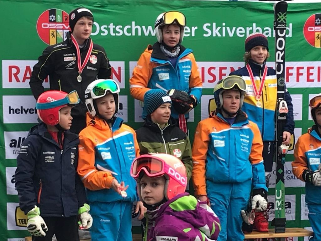 Skiclub Gossau bringt erneut neun Medaillen nach Hause