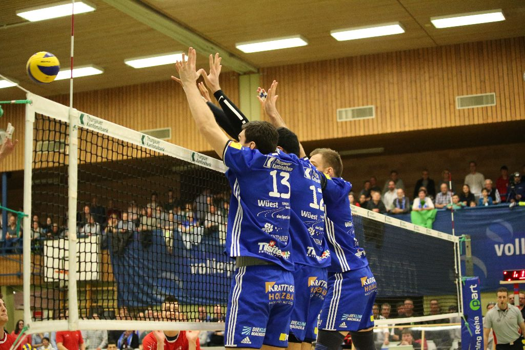Volley Amriswil demontiert sich selber