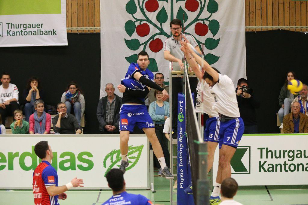 Volley Amriswil erreicht den Playoff-Halbfinal