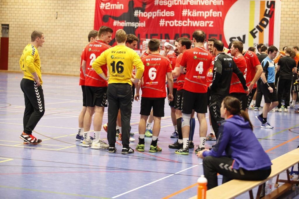 Letztes Heimspiel von SV Fides in der Saison 2017/2018
