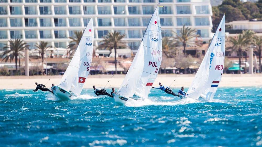 Swiss Sailing Team bereit für die Trofeo Princesa Sofia Regatta