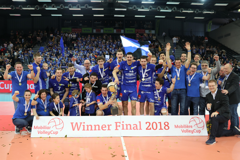 Volley Amriswil holt erneut den Cupsieg