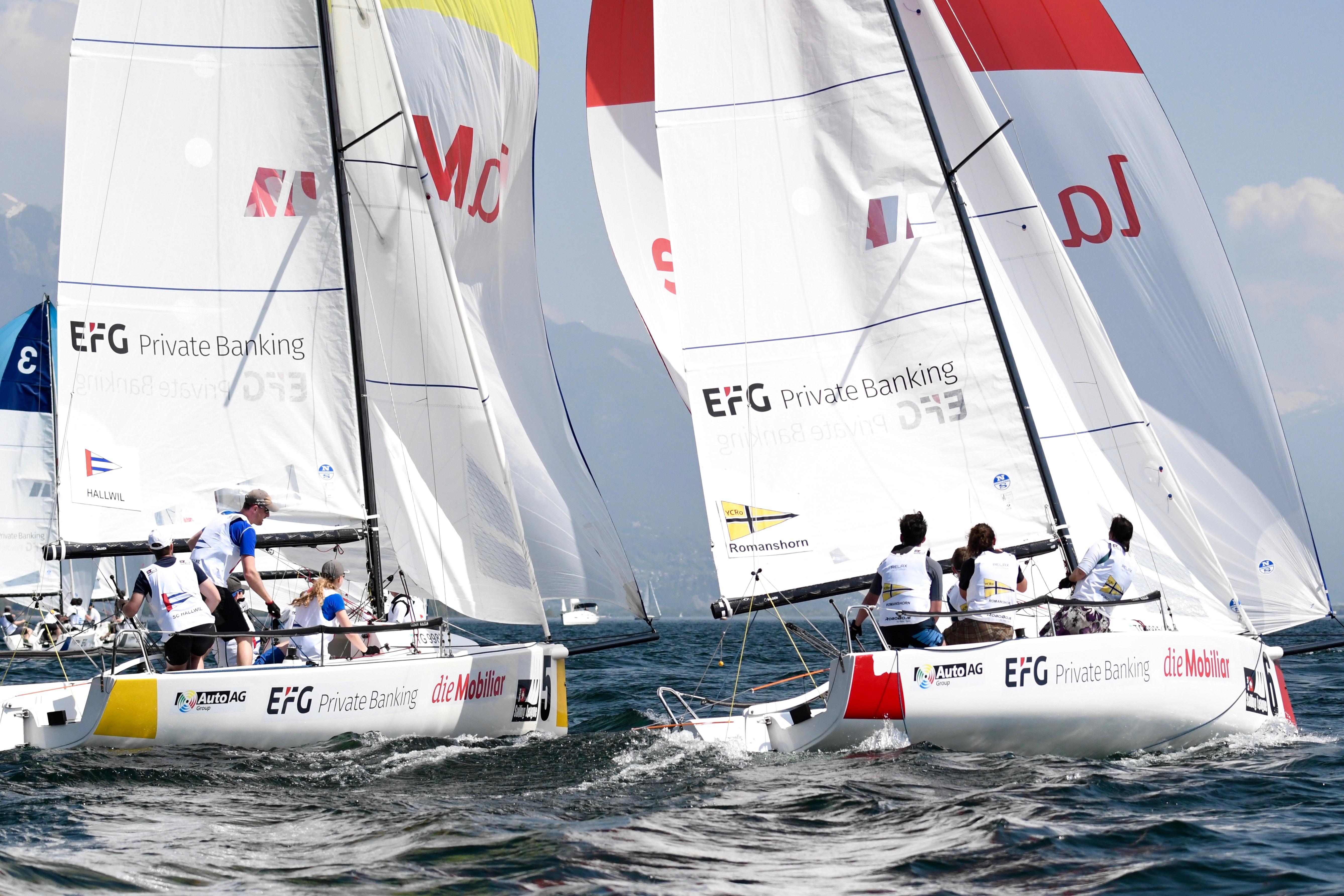 Swiss Sailing League in Romanshorn