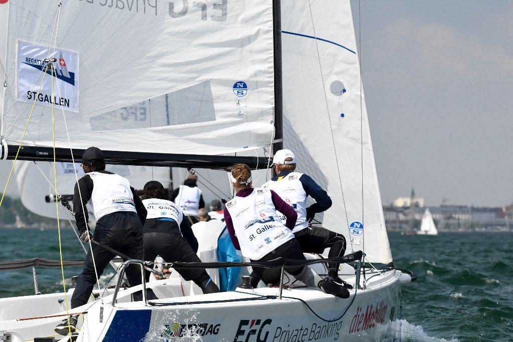 Segelclub Cham dominiert Act 2 der Sailing Challenge League vor Zürich!