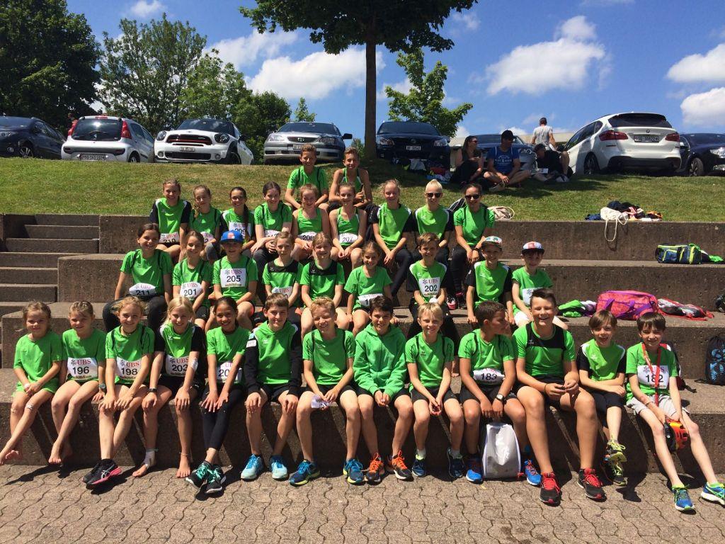 8 Forti Medaillen am UBS Kids Cup in Gossau