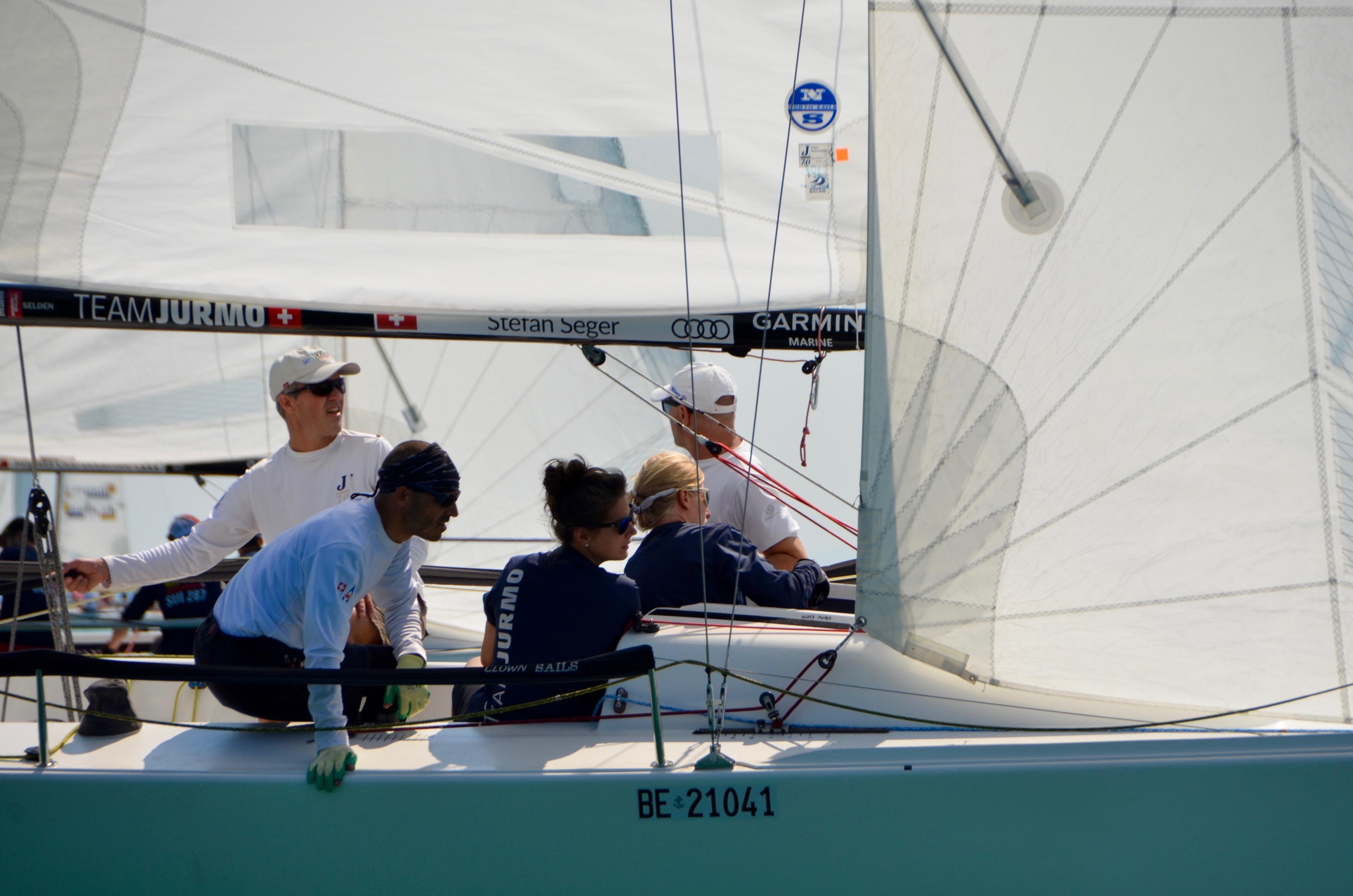 Grösste Schweizer Sportboot Segelregatta vor Kreuzlingen