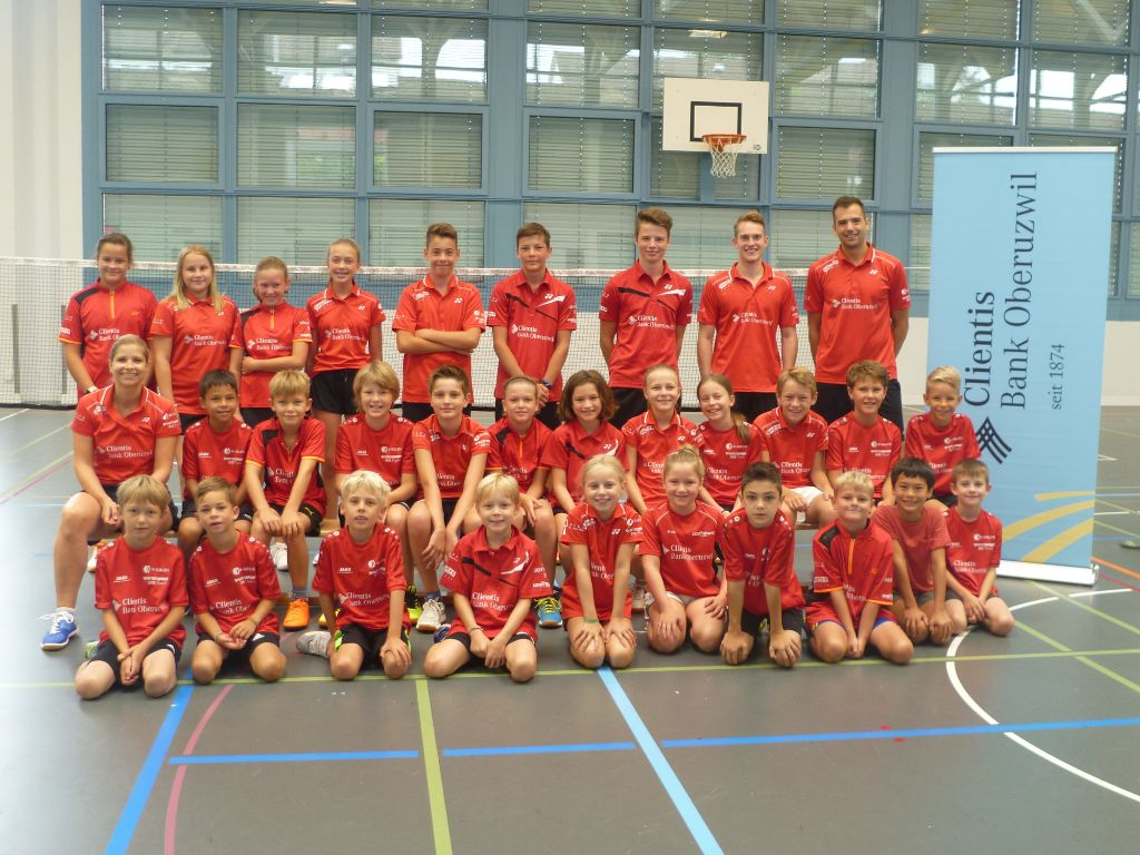 Uzwiler Badmintonspieler startklar
