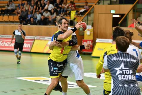 TSV St. Otmar gewinnt gegen den BSV Bern mit 34:30 (18:14)
