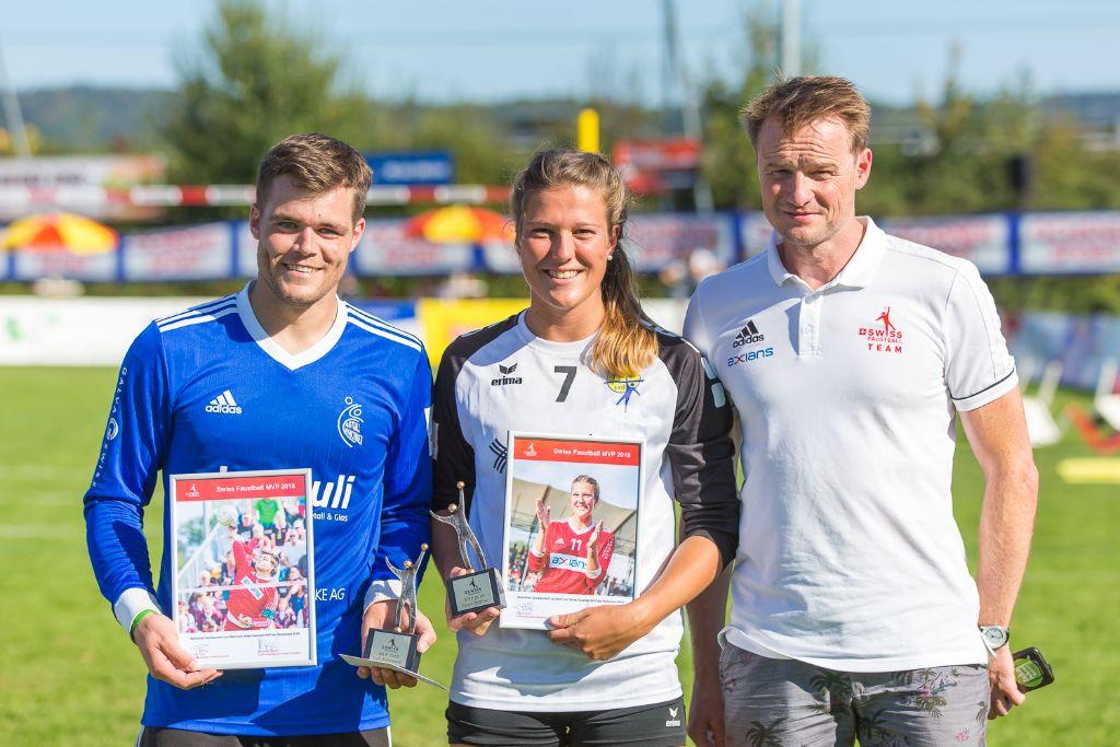 Bognar und Rebsamen gewinnen den MVP-Award