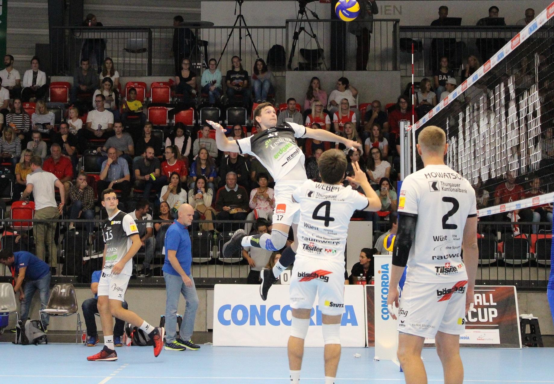 Pflichtsieg für Volley Amriswil in Jona