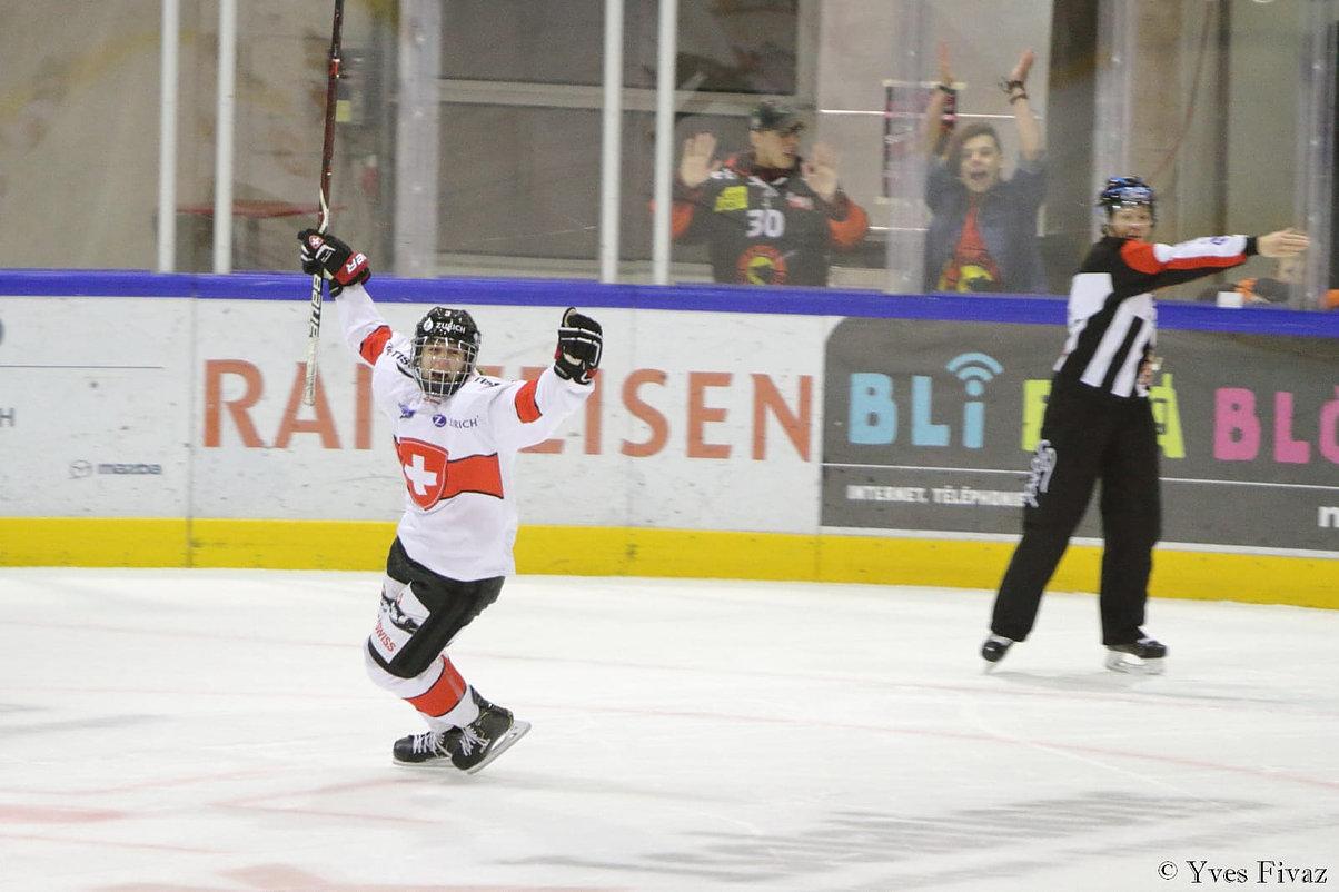 Frauen-Eishockey-Nati: Rang 2 in Monthey