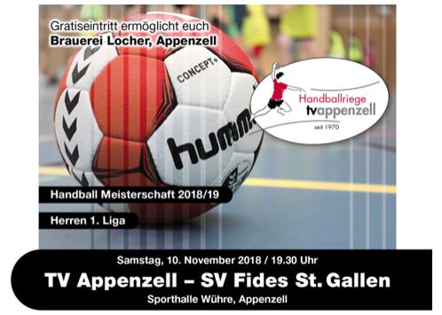 SV Fides zu Gast in Appenzell
