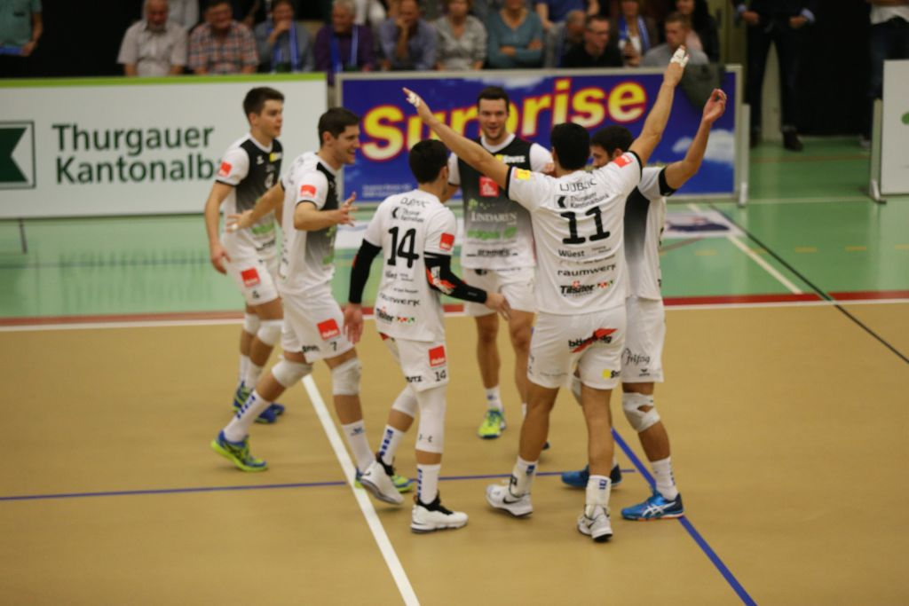 LINDAREN Volley Amriswil reist nach Schönenwerd