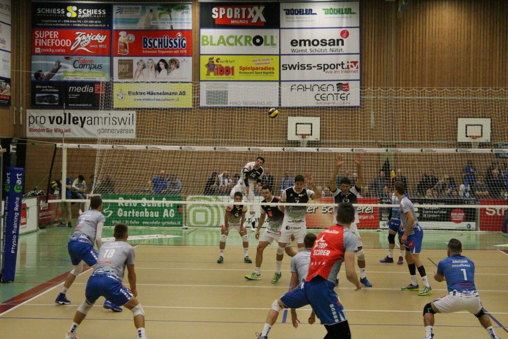 LINDAREN Volley Amriswil siegt weiter