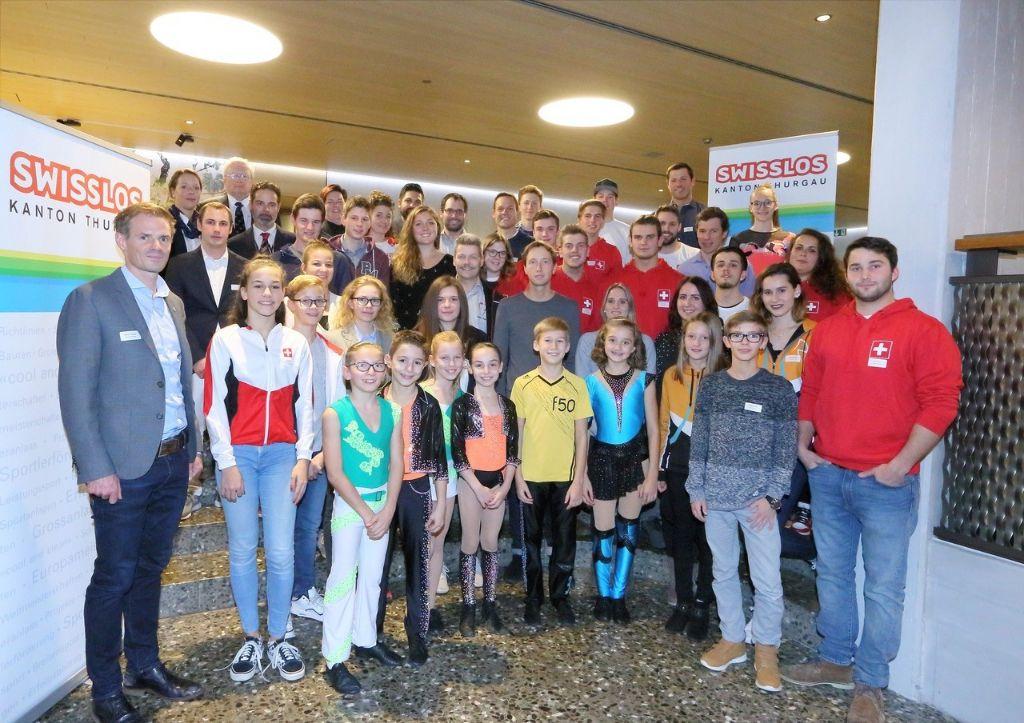 39 Thurgauer Sportler holen 76 050 Franken ab