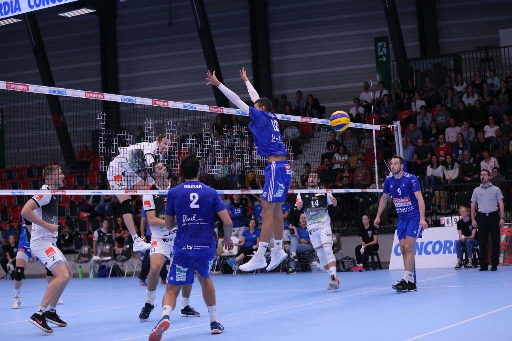 LINDAREN Volley Amriswil empfängt den Meister und Supercup-Sieger