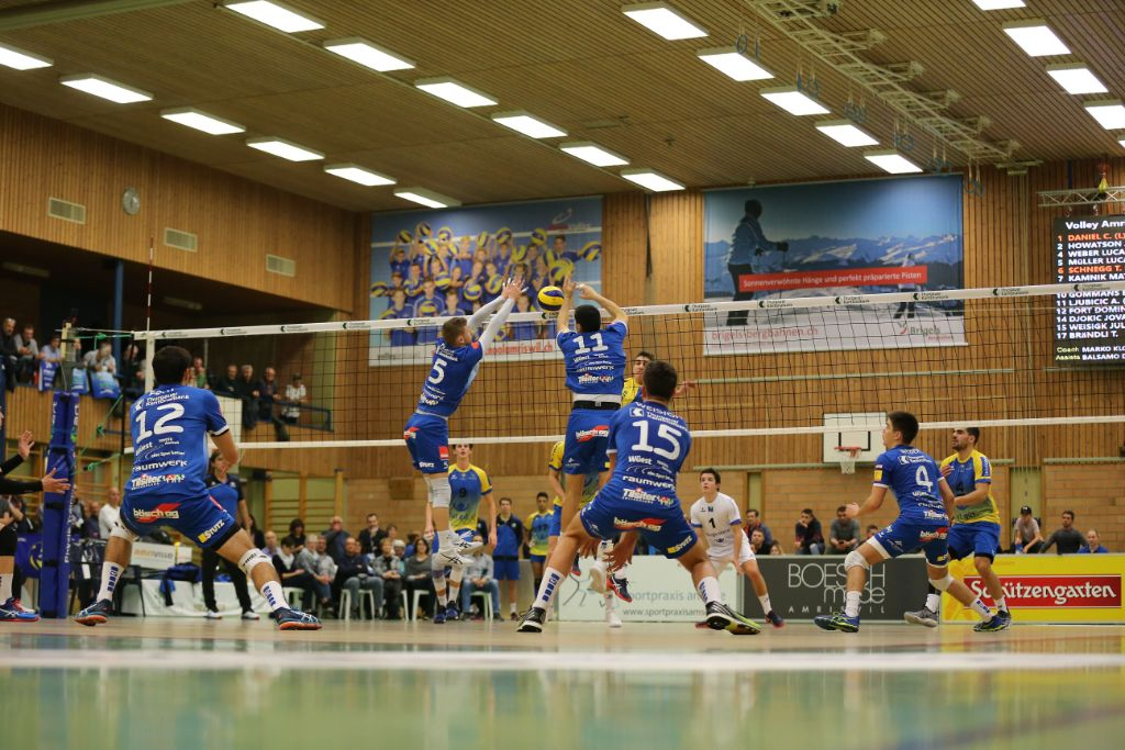 LINDAREN Volley Amriswil siegt auch gegen Jona