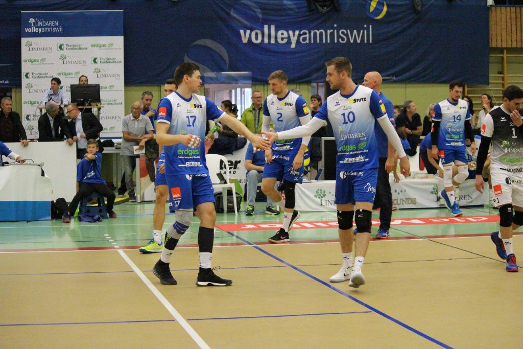 LINDAREN Volley Amriswil gewinnt auch bei Chênois