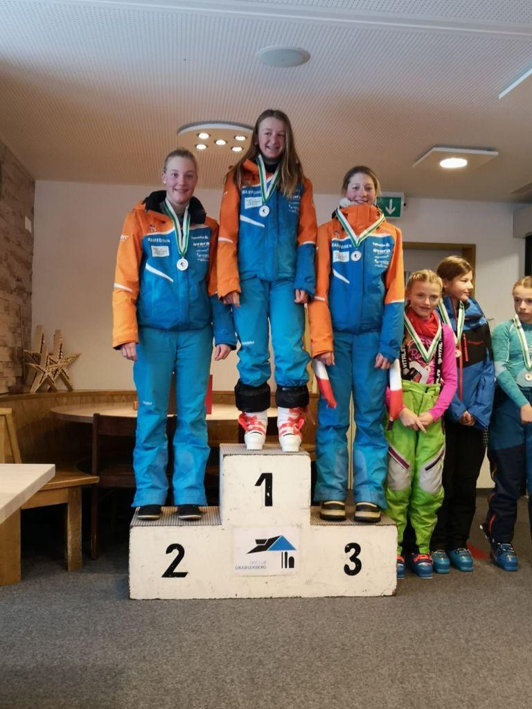 Vier Podestplätze für den Skiclub Gossau in Wildhaus