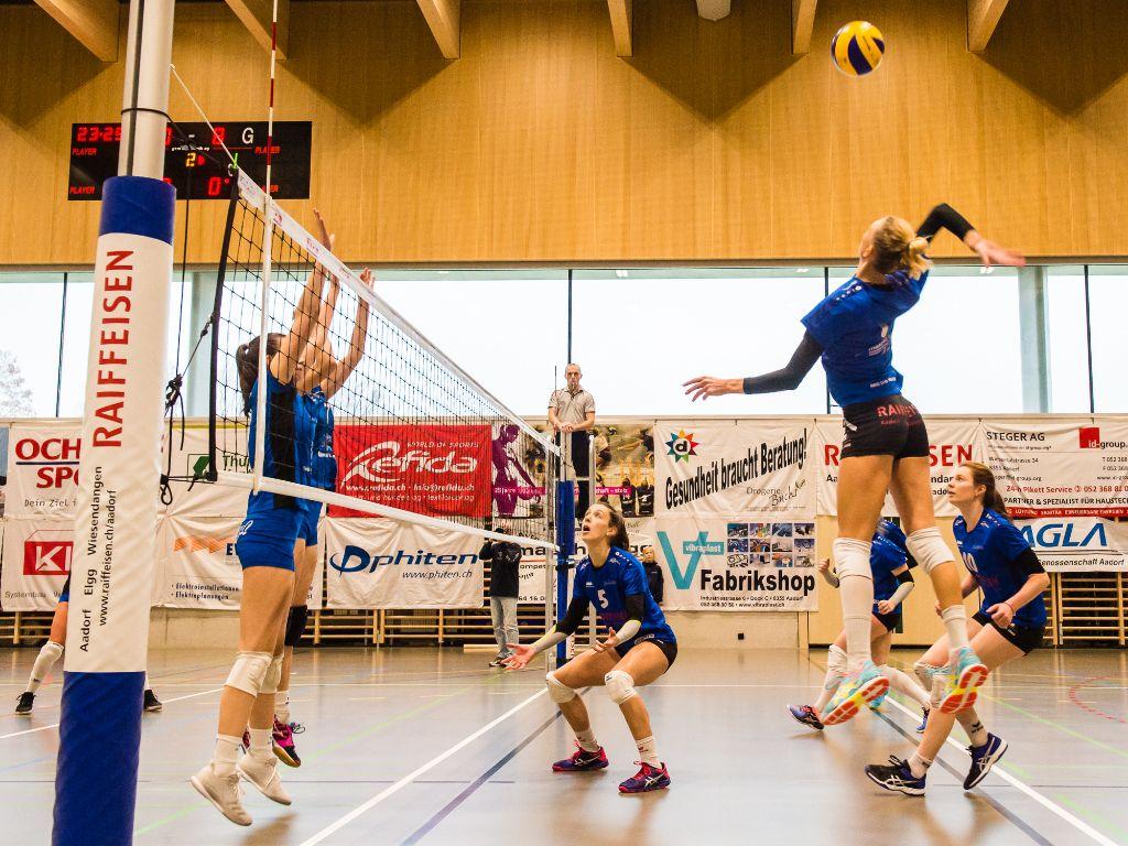 Erfolgloser Start ins neue Jahr für den VBC Aadorf