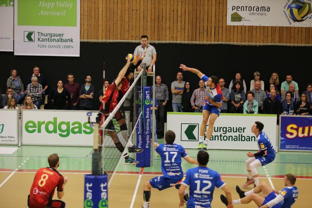 Klarer Auswärtssieg für LINDAREN Volley Amriswil