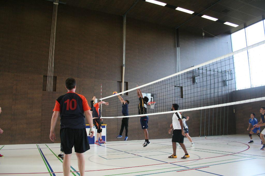 Volley Lengwil verweist das Organisatoren-Team Schlatt auf den zweiten Platz