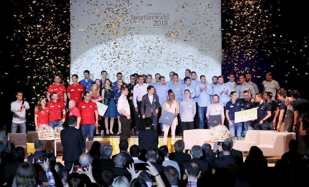 Martin Fuchs und STV Wigoltingen sind Thurgauer Sportler des Jahres