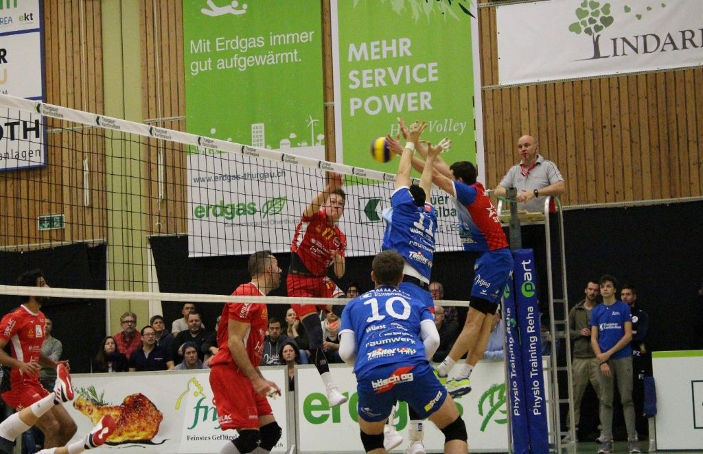 Doppelerfolg für LINDAREN LINDAREN Volley Amriswil