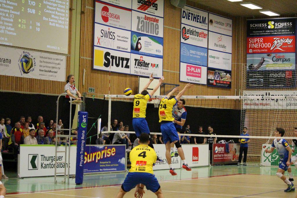 LINDAREN Volley Amriswil spaziert durch