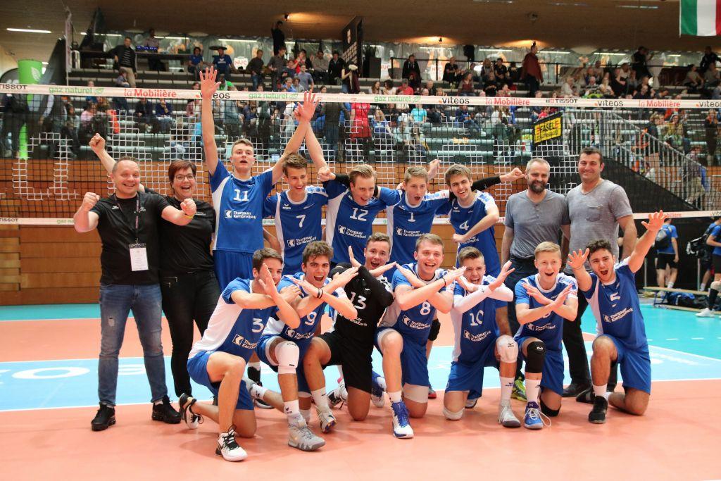 U19 Junioren sind Schweizermeister