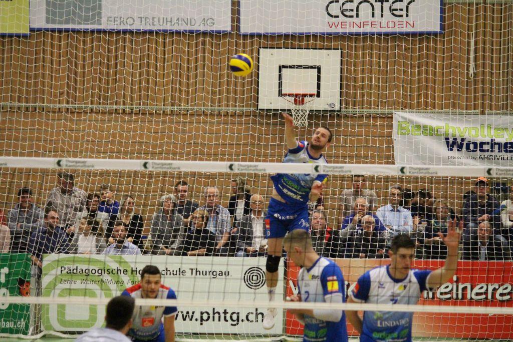 Eine Machtdemonstration von LINDAREN Volley Amriswil