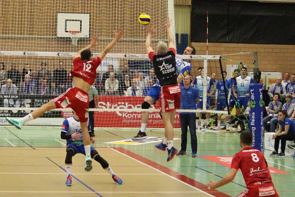 Volley Amriswil verliert auch die zweite Finalpartie