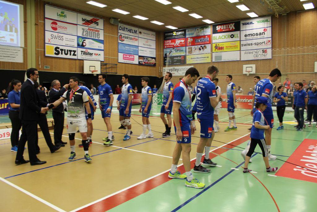 Aus, vorbei: Amriswil unterliegt im Playoff-Final