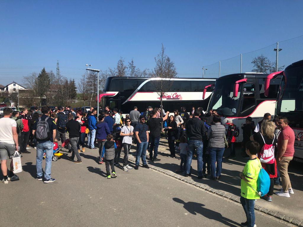 """FC Wängi unterwegs im """"Stade de Suisse"""" Bern"""