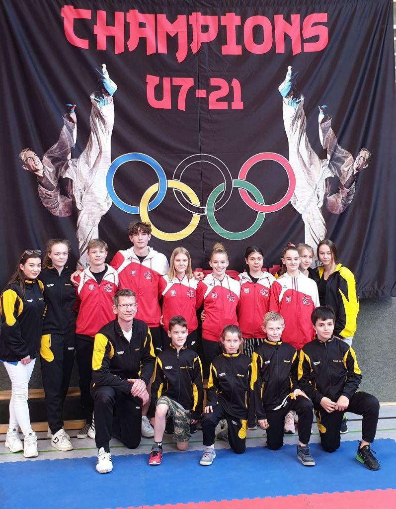 Karate Center Reto Kern erfolgreich am 9. Internationalen U7-21 Randori in D-Waldmichelbach