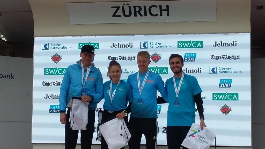 Gold am Zürich Marathon