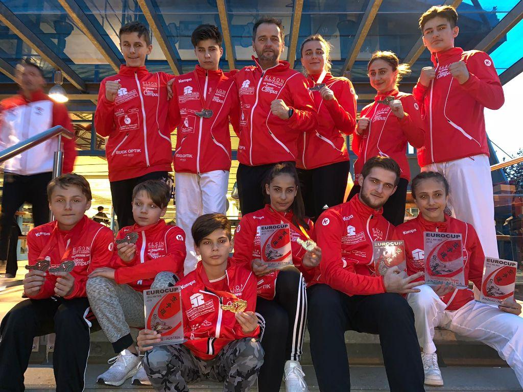 Wahnsinnserfolge für Karatekids am Euro Cup, Zell am See, AT